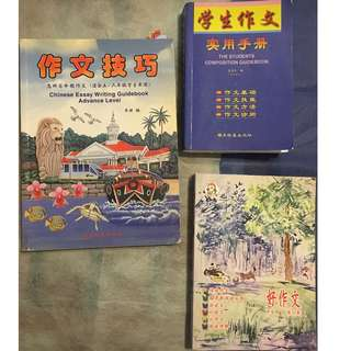 Chinese writing guidebooks