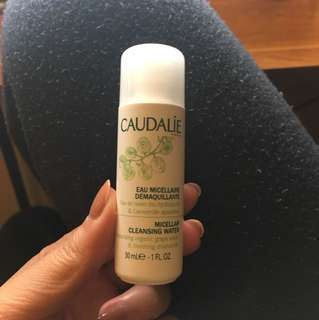 Caudalie cleansing water 30ml