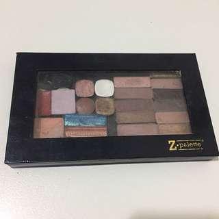 Z Palette+ Eyeshadows/Lipstick/Bronzer pans