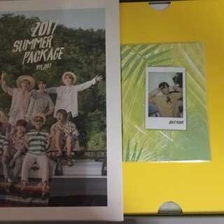 [CHRISTMAS SALE] BTS Summer Package 2017 with Jungkook Selfie Book