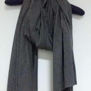 澳洲品牌COTTON ON 淺灰棉質圍巾