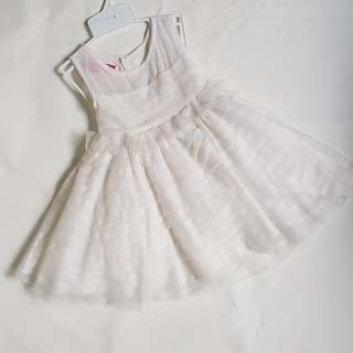 White Flower girl dress (2 year old)