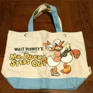 Uniqlo × disney donald duck totebag 唐老鴨 帆布袋 手抽袋 手挽袋