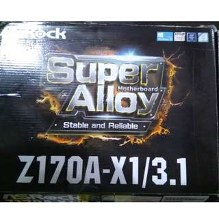 Asrock Z170 LGA 1151 motherboard