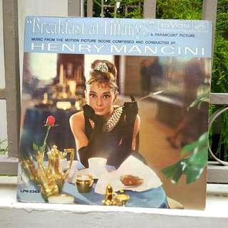 Breakfast at Tiffany's Vinyl LP