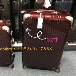 RIMOWA Limbo 881.77.34.4 32寸紅色 巨無霸 HKD5000(原價HKD6680)