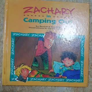Zachary in Camping out