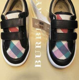 Original Burberry shoes for kids