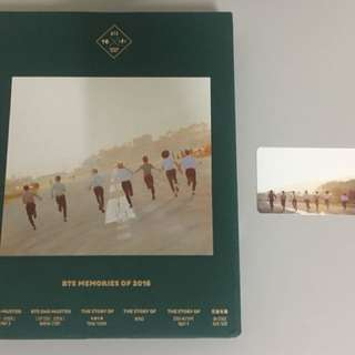 [CHRISTMAS SALE] BTS Memories 2016