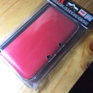 New 3DS XL Crystal Case