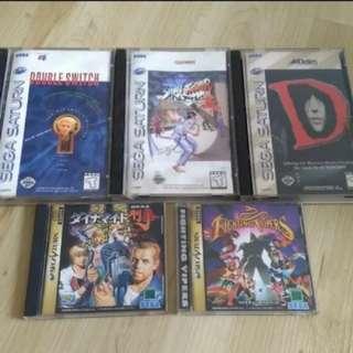 RETRO Sega Saturn games