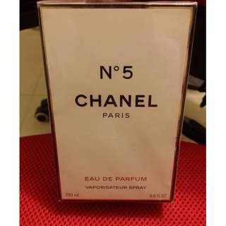 Brand New Chanel No.5  EDP Perfume 香水 200ml