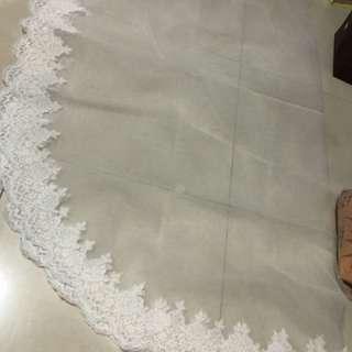 結婚物資:全新長頭紗