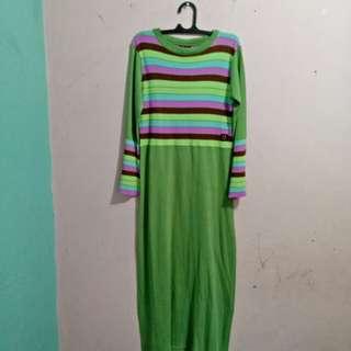 Baju panjang knit