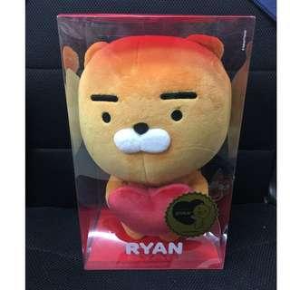 💕💕情人節快到啦!  韓國 Kakao Friends - Plush Doll 35cm-Heart Ryan