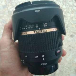 Tamron 17-50mm f/2.8 VC NIKON MOUNT