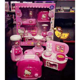 HELLO KITTY Kitchen simulation toys