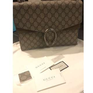 Authentic Gucci Dionysus Bag in Large