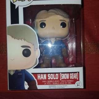 Hans Solo Pop Toy *snow edition