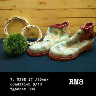 Rain boots @ gummy boots