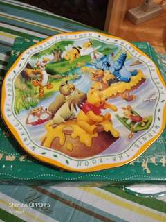Authentic Winnie the Pooh Decorative Plate
