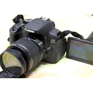 canon eos 650d w 18 55 mm is lens hd video low actuation