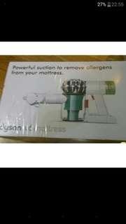 Dyson v6 mattress 4吸頭,包含塵蟎電動吸頭