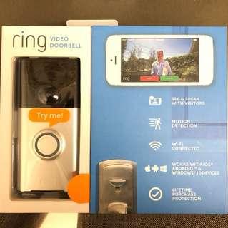 BNIB ring video doorbell