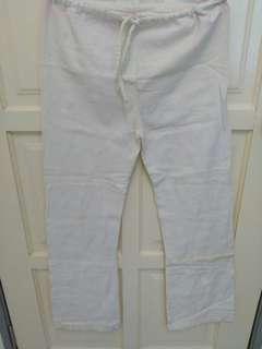 White Long Pants / White Jeans