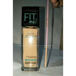 Maybelline Matte and Poreless 125