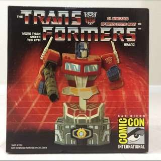 Transformers G1 Optimus Prime Bust SDCC Diamond Select Limited Edition Statue