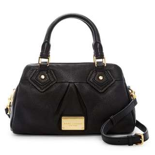 New Authentic Marc by Marc Jacobs Classic Q Baby Groovee in Black #MidJan55