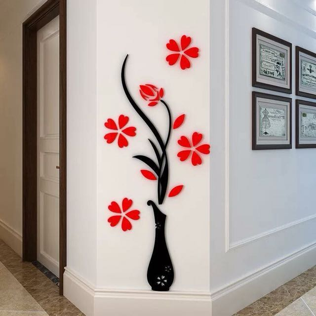 3D Wall Adhesive Stickers