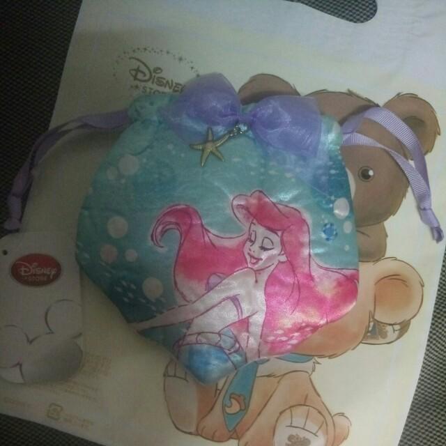 日本迪士尼 小美人魚束口袋