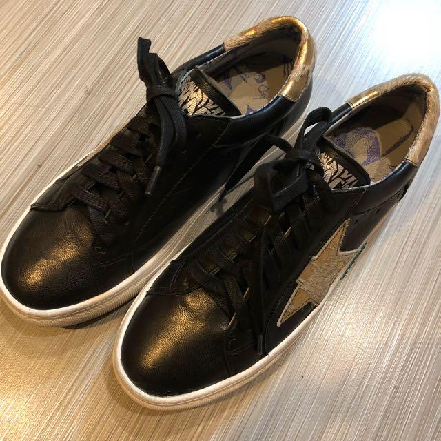 麥坎納 全皮鞋