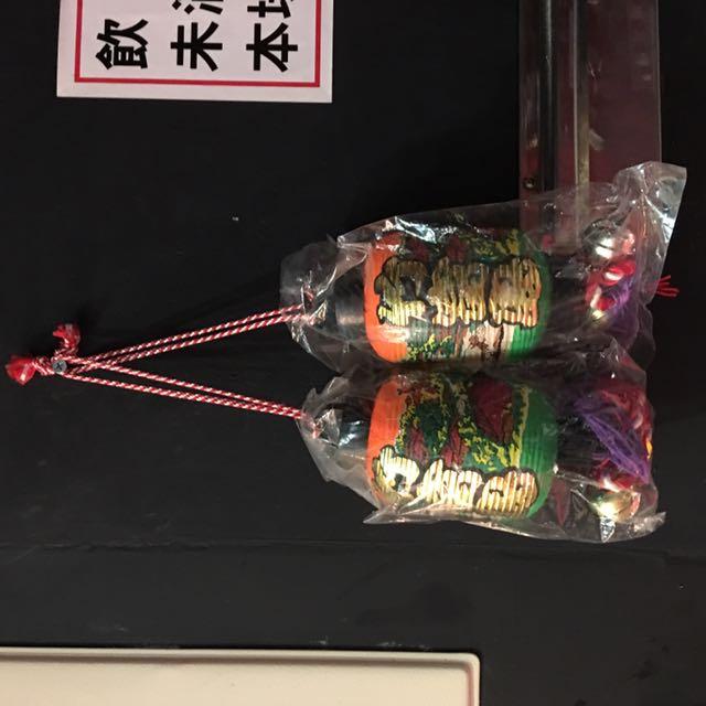 日本 竹富島燈籠吊飾 一對