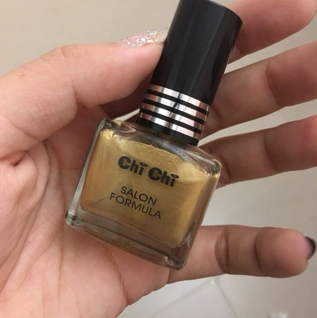 澳洲美妝 chichi 金色指甲油