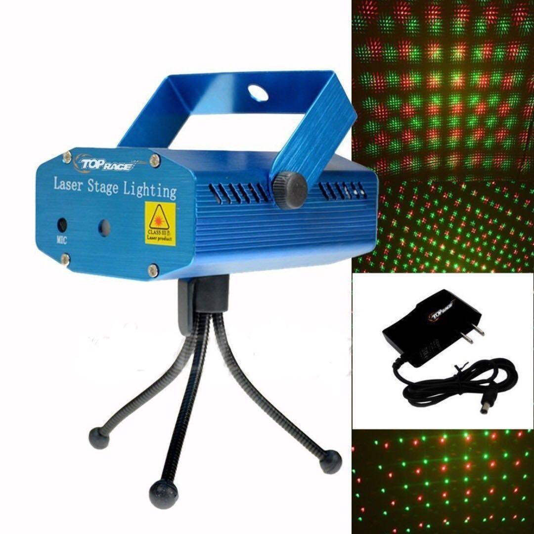 🔥 Christmas Laser Stage Lighthing KTV DISCO KARAOKE Mini Laser Stage LIght