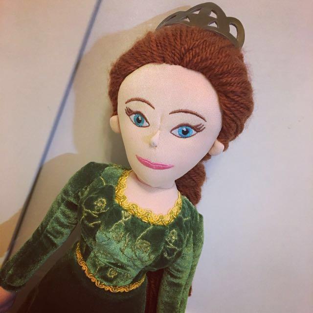 《絕版品》新加坡環球影城限定電影史瑞克 Fiona費歐娜公主玩偶娃娃