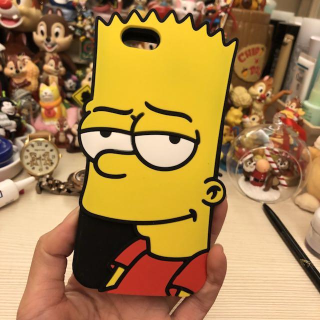 辛普森 iphone6 6s 軟膠手機殼