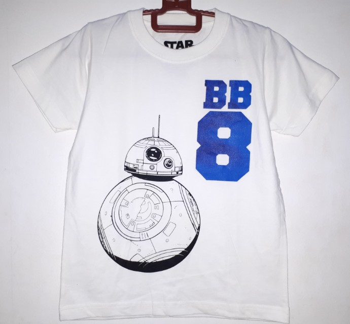 Authentic and Brandnew Starwars Tee for Kids ( size: medium)