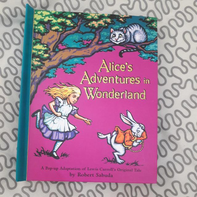 Alice In Wonderland Popup Book
