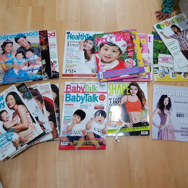 20+ Pregnancy/baby magazines #NYB50