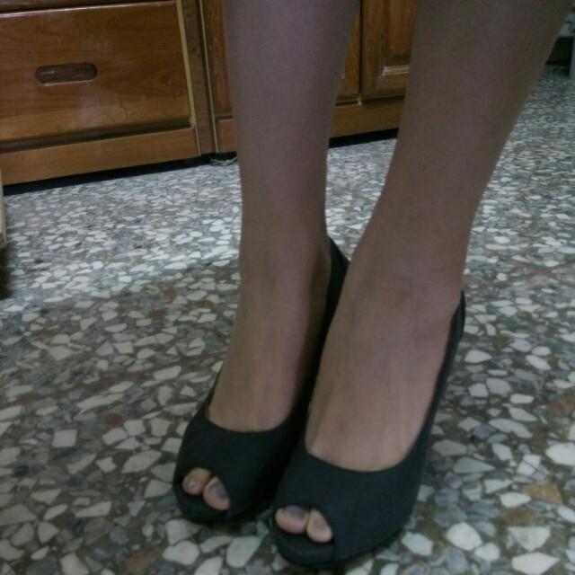 Amai 魚口高跟鞋