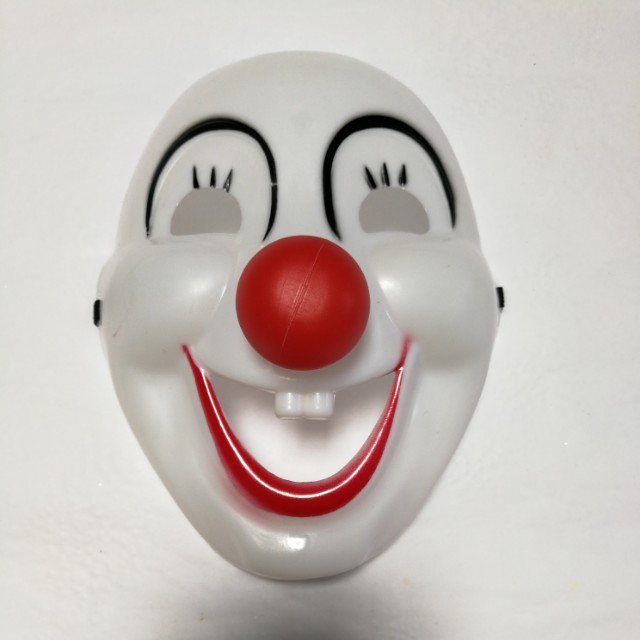 Anonymous Funny Scary Halloween Clown Mask