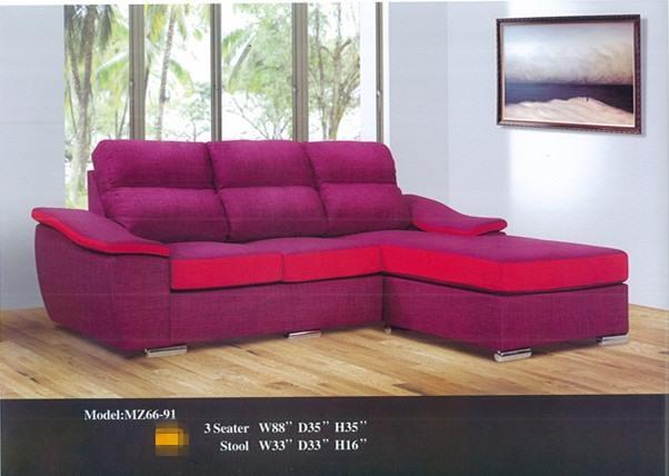 Ansuran Murah L Shape Sofa Model 6691 Home Furniture Furniture