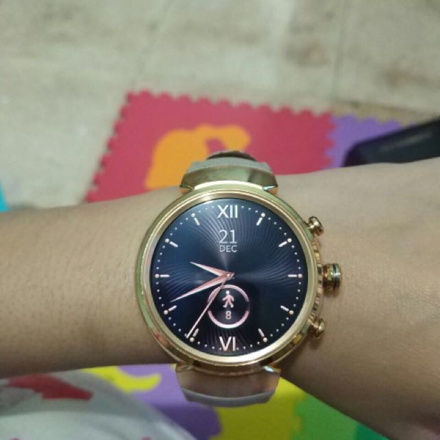 Asus Zenwatch 3 Rosegold with Beige Lether Band (Smart Watch)