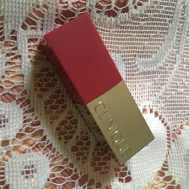 Auth Clinique Rose Pop Mini Lipstick