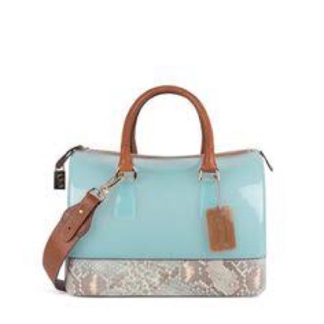 AUTHENTIC Furla Limited Edition Candy Snake Bag
