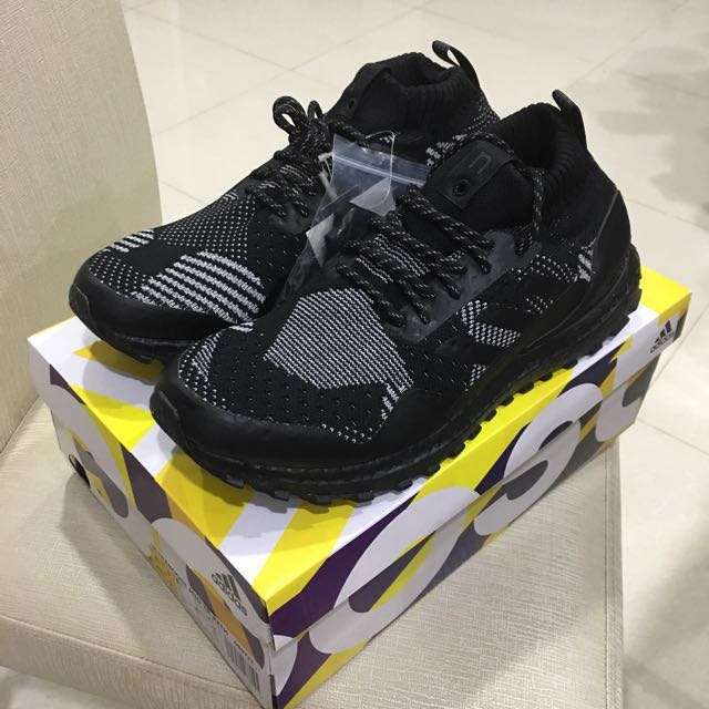 41381886d0c Authentic Kith x Nonnative x Adidas Ultra Boost Mid Patchwork Black ...
